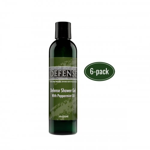 Defense Peppermint Shower Gel 6 Pack